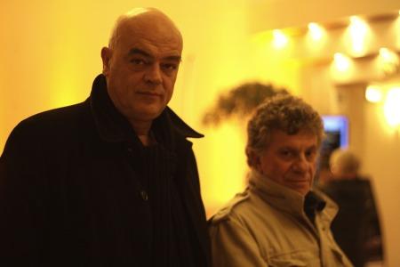 Rémy Ourdan et Patrick Chauvel